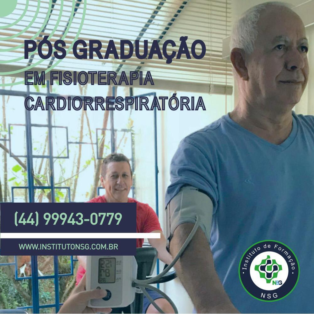 Pós-graduação em Fisioterapia Cardiorrespiratória